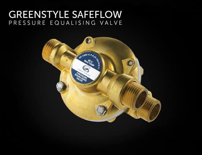 Greenstyle Safeflow Pressure Equalizing Valve