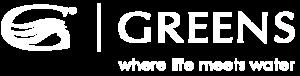 Greens Tapware Logo White